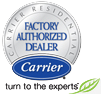 Let an authorized Carrier Dealer install your Heating in Chanhassen, MN.