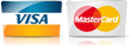 For AC in Chanhassen MN, we accept most major credit cards.
