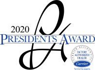 Peak Heating & Cooling Inc. is a winner of the 2020 Presidents Award.