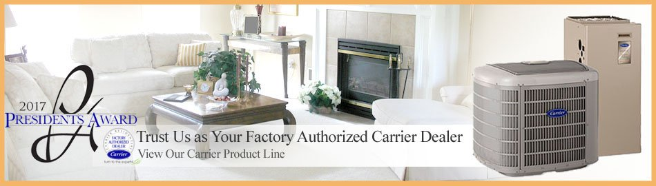 Let an authorized Carrier Dealer install your Heating in Eden Prairie MN.